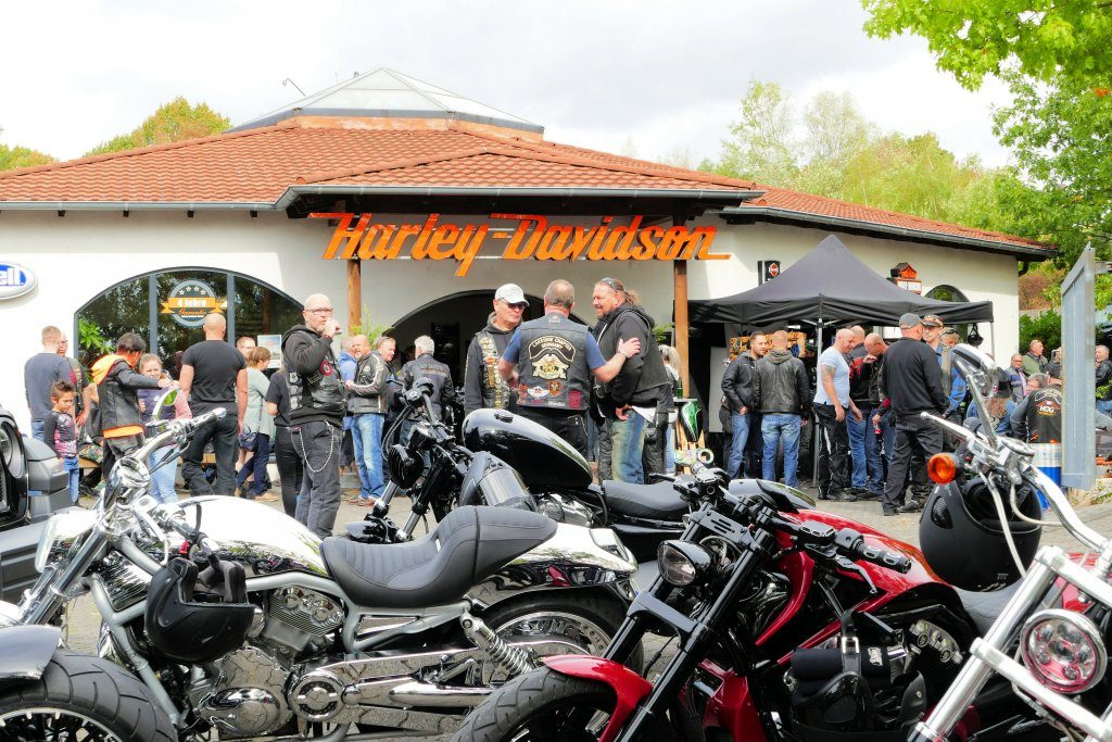 Harley-Davidson Kassel bei ihrer Open-House Veranstaltung