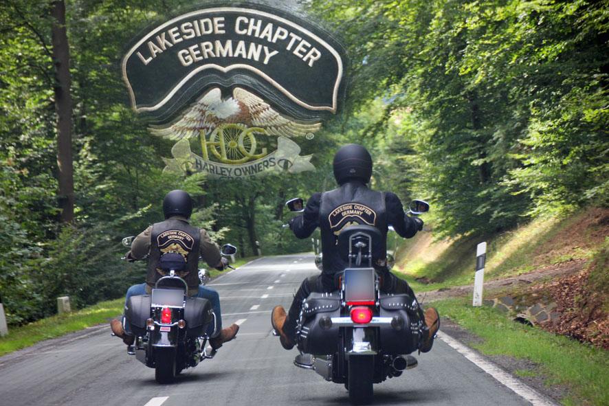 Freunde vom Zündstoff am Edersee:Harley-Davidson Lakeside Chapter