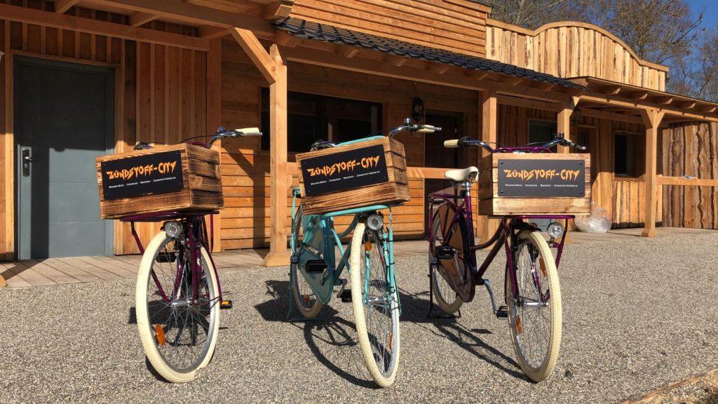 Fahrräder mieten im Hotel Zündstoff-City Western-Motel