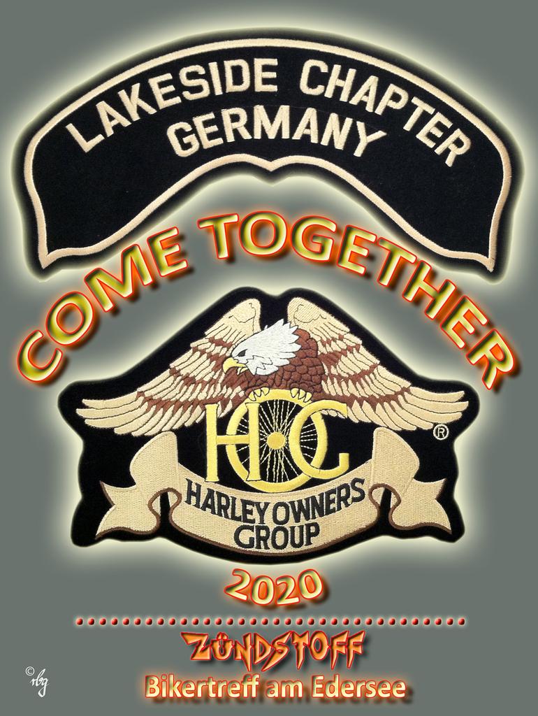 Harley-Davidson Lakeside Chapter Logo