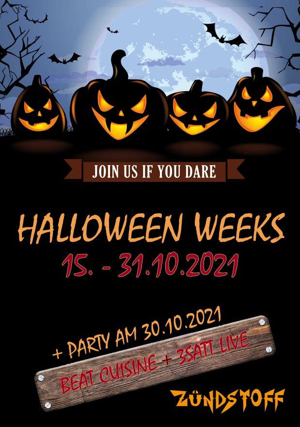 Halloween Weeks Zündstoff
