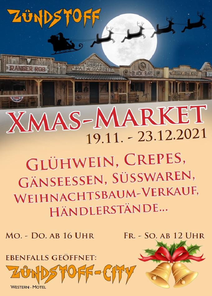 Weihnachtsmarkt am Edersee: Zündstoff Xmas-Market